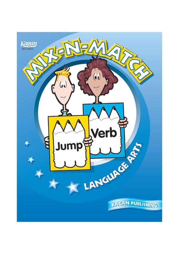 Mix-N-Match Book- English